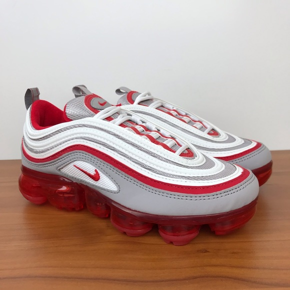 "timeless design bc478 c1226 Nike Air VaporMax 97 (GS) ""University Red"""